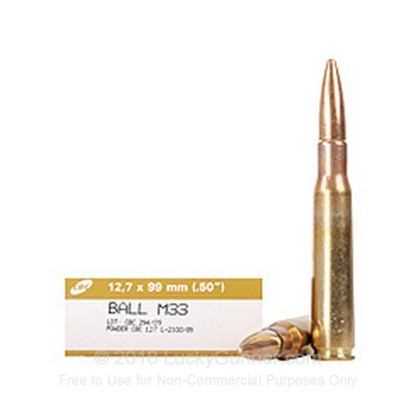 Image 1 of Magtech .50 BMG Ammo
