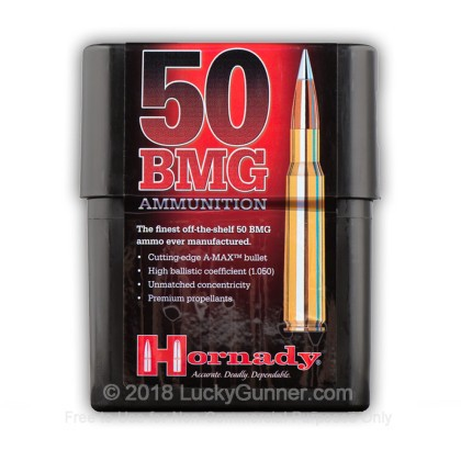 Image 2 of Hornady .50 BMG Ammo