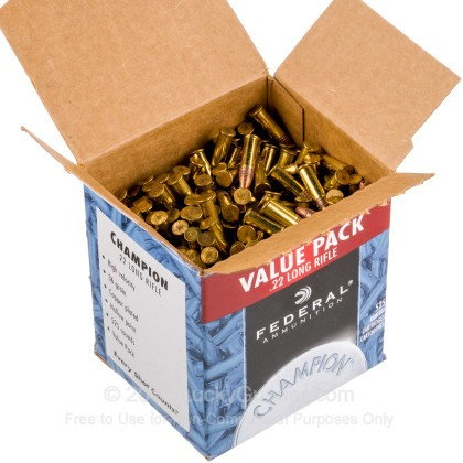 Image 3 of Federal .22 Long Rifle (LR) Ammo