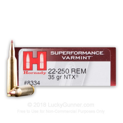 Image 1 of Hornady .22-250 Remington Ammo