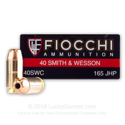 Image 1 of Fiocchi .40 S&W (Smith & Wesson) Ammo