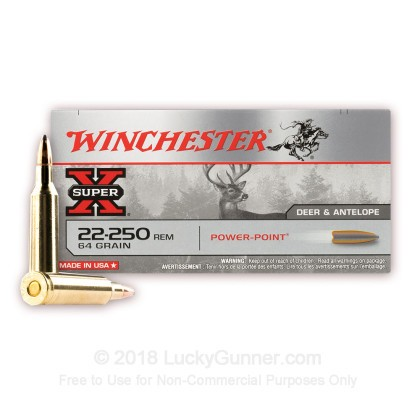 Image 2 of Winchester .22-250 Remington Ammo