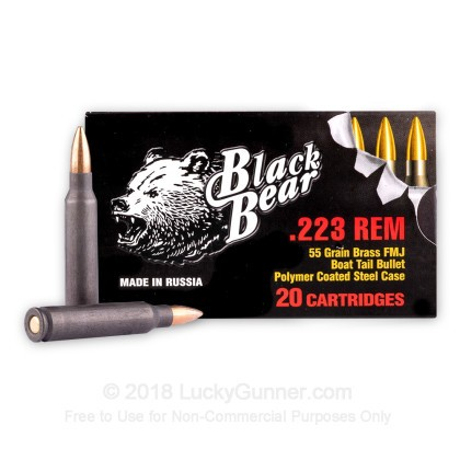 Image 1 of Brown Bear .223 Remington Ammo