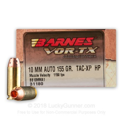 Image 1 of Barnes 10mm Auto Ammo