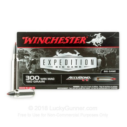 Image 1 of Winchester .300 Winchester Magnum Ammo