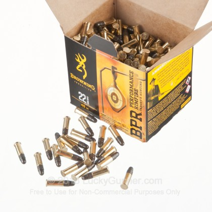 Image 3 of Browning .22 Long Rifle (LR) Ammo