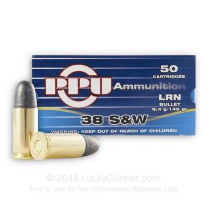Image 2 of Prvi Partizan .38 Smith & Wesson Ammo