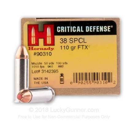 Image 1 of Hornady .38 Special Ammo