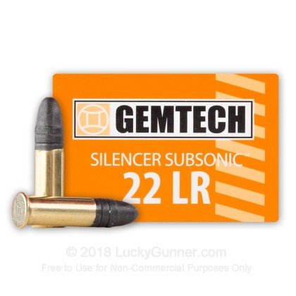 Image 2 of Gemtech .22 Long Rifle (LR) Ammo