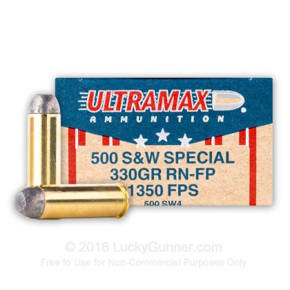 Image 1 of Ultramax .500 S&W Magnum Ammo