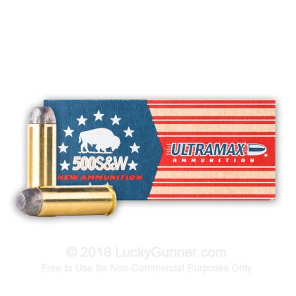 Image 2 of Ultramax .500 S&W Magnum Ammo