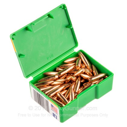 Large image of Bulk 223 Rem (.224) Bullets for Sale - 69 Grain HPBT Bullets in Stock by Sierra - 500