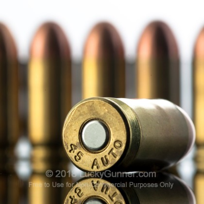 Image 6 of Military Ballistics Industries .45 ACP (Auto) Ammo
