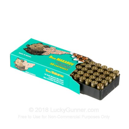Image 3 of Brown Bear 9mm Makarov (9x18mm) Ammo