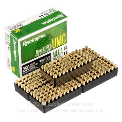 Image 4 of Remington 9mm Luger (9x19) Ammo
