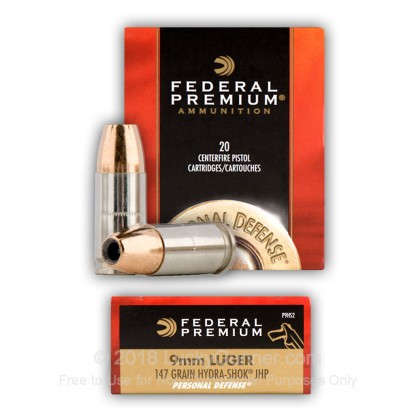 Image 5 of Federal 9mm Luger (9x19) Ammo