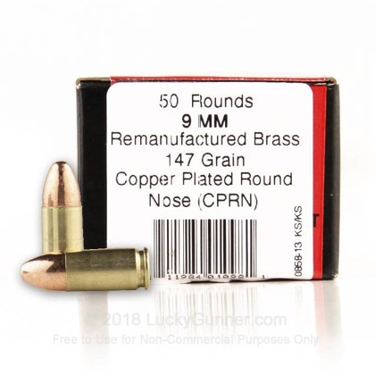 Image 1 of BVAC 9mm Luger (9x19) Ammo