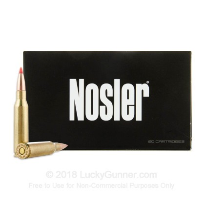 Image 2 of Nosler Ammunition 7mm-08 Remington Ammo