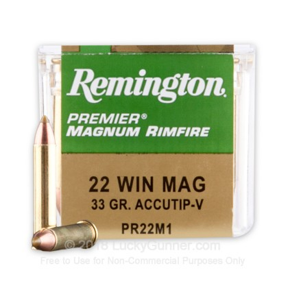 Image 1 of Remington .22 Magnum (WMR) Ammo