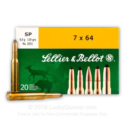 Image 1 of Sellier & Bellot 7x64 Brenneke Ammo