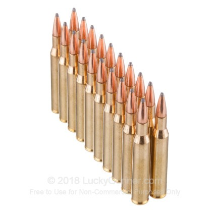 Large image of Premium270 Ammo For Sale - 140 Grain SPBT Ammunition in Stock by Hornady InterLock - 20 Rounds