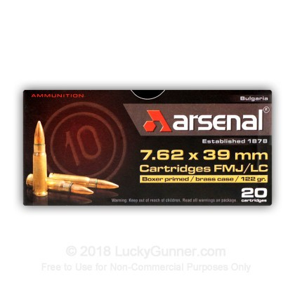 Image 2 of Arsenal 7.62X39 Ammo