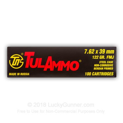Image 10 of Tula Cartridge Works 7.62X39 Ammo