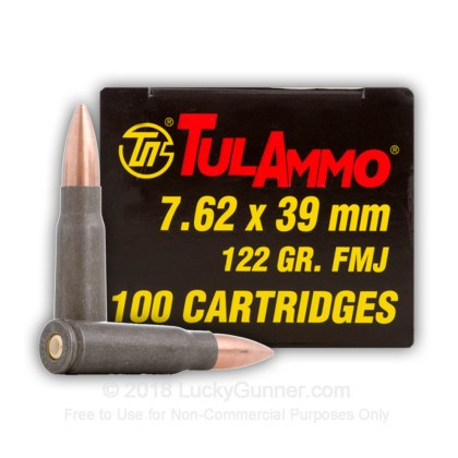 Image 12 of Tula Cartridge Works 7.62X39 Ammo