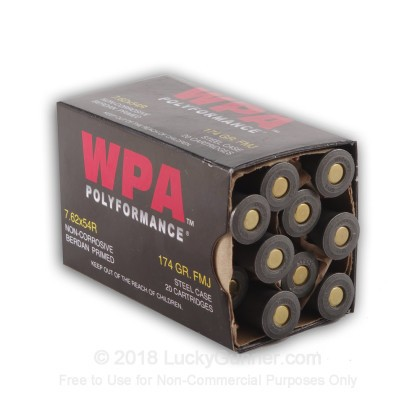 Image 3 of Wolf 7.62x54r Ammo