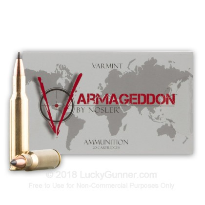 Image 2 of Nosler Ammunition .222 Remington Ammo