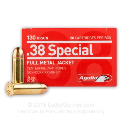 Image 2 of Aguila .38 Special Ammo