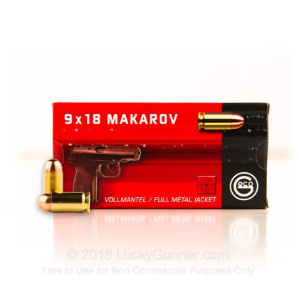 Image 2 of GECO 9mm Makarov (9x18mm) Ammo