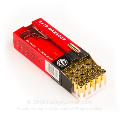 Image 3 of GECO 9mm Makarov (9x18mm) Ammo