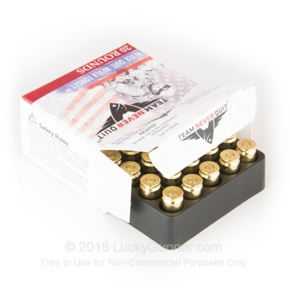 Image 3 of Team Never Quit .40 S&W (Smith & Wesson) Ammo