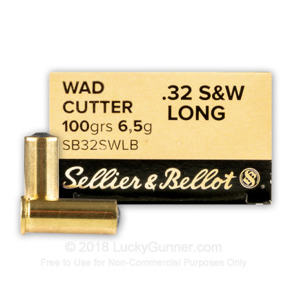 Image 1 of Sellier & Bellot .32 (Smith & Wesson) Long Ammo