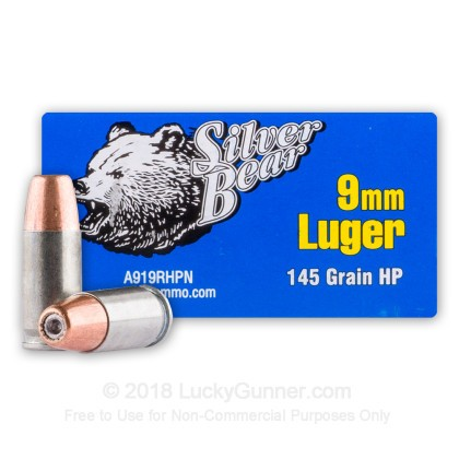 Image 2 of Silver Bear 9mm Luger (9x19) Ammo