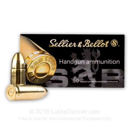 Image 2 of Sellier & Bellot 9mm Luger (9x19) Ammo