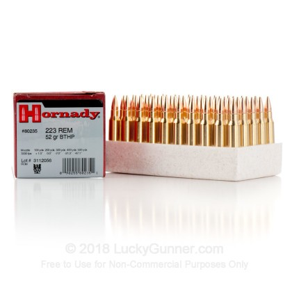 Image 7 of Hornady .223 Remington Ammo