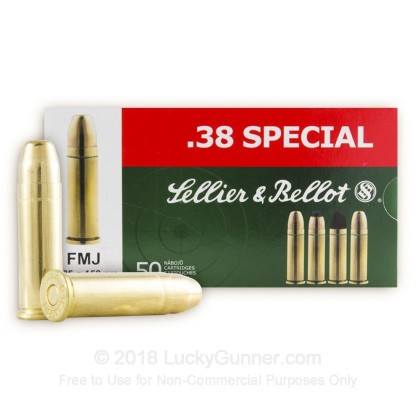 Image 2 of Sellier & Bellot .38 Special Ammo