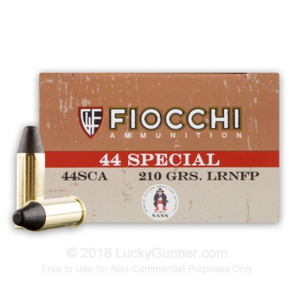 Image 1 of Fiocchi .44 Special Ammo