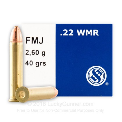 Image 1 of Sellier & Bellot .22 Magnum (WMR) Ammo