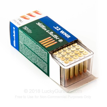 Image 3 of Sellier & Bellot .22 Magnum (WMR) Ammo