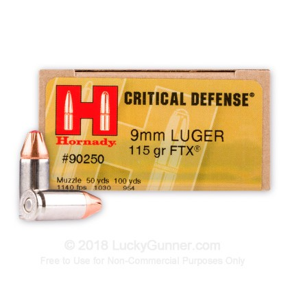 Image 1 of Hornady 9mm Luger (9x19) Ammo