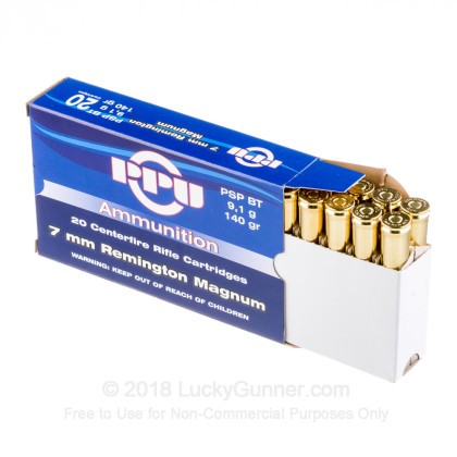 Image 3 of Prvi Partizan 7mm Remington Magnum Ammo