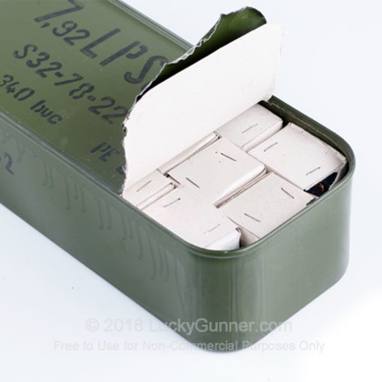 Image 3 of Romanian Military Surplus 8mm Mauser (8x57mm JS) Ammo