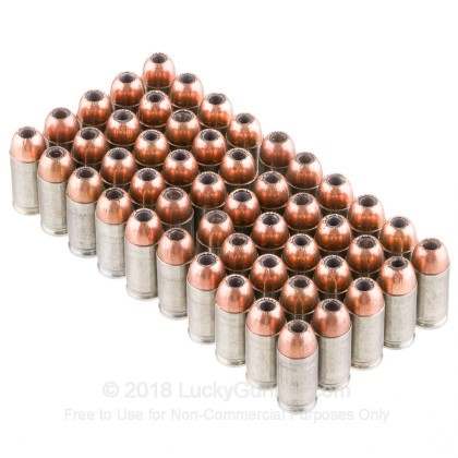 Large image of Cheap 9x18mm Makarov Ammo For Sale – 94 Grain JHP Ammunition in Stock by Silver Bear - 50 Rounds