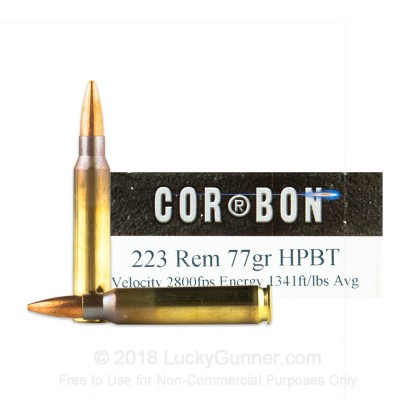 Image 2 of Corbon .223 Remington Ammo