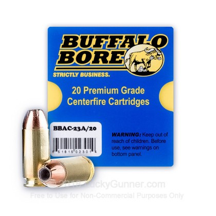 Image 2 of Buffalo Bore .40 S&W (Smith & Wesson) Ammo