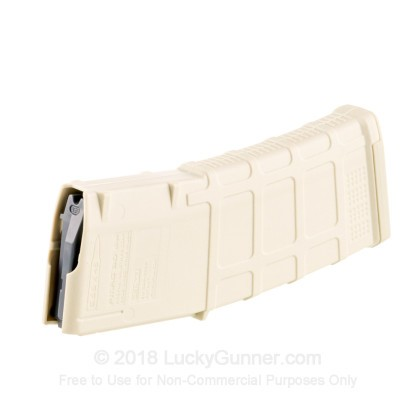 Large image of Premium 223 Rem Magazine For Sale - AR/M4 Gen 3 Sand Magazine in Stock by Magpul PMAG - 30 Round Magazine