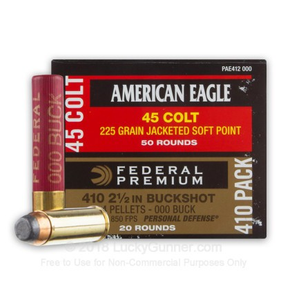 Image 1 of Federal .45 Long Colt Ammo